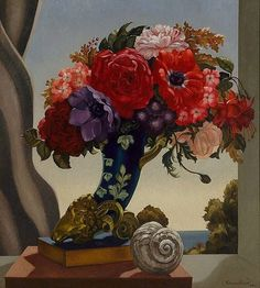 Adrian Feint (Australian, 1894 – 1971) - Flowers in sunlight / Flower piece, 1940