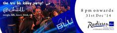 The Tru Blu Lobby Party in Hyderabad on December 31, 2014