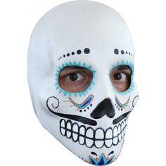 Disfraces de Halloween: Máscara del Día de los Muertos Mexicano