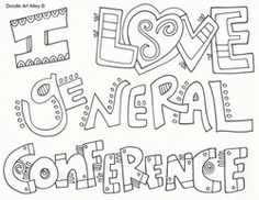 lds conference coloring pages 44 Best General Conference Activities for Kids images | General  lds conference coloring pages
