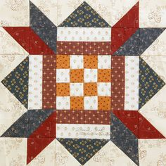 Checkerboard Star by Evonne Cook of The Clothesline Quilter. Blog Tour with great giveaways: http://www.quiltmaker.com/blogs/quiltypleasures/