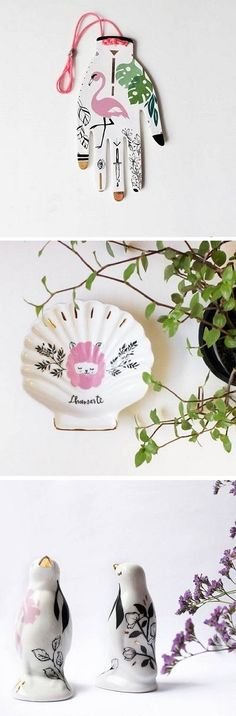 Illustrated Ceramics by Studio Pamelitas