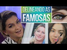 DELINEANDO AS FAMOSAS POR ALICE SALAZAR - YouTube