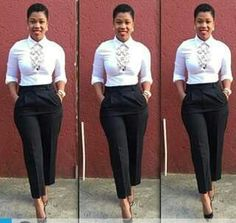 Corporate attire for Women Casual Work Attire, Classy Work Outfits, Business Casual Attire, Professional Outfits, Cute Outfits, Work Fashion, Fashion Outfits, Fashion Ideas, Corporate Attire