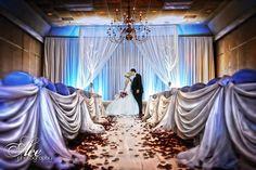 draped wedding space, nashville wedding, enchanted florist, wedding design, ace photography, #nashvillewedding, by @Caprice Fortenberry Fortenberry Palmer | The Enchanted Florist