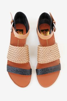 New sandals by Dolce Vita are here! Be sure to snag a pair of these woven neutral sandals. You won't want to be without them this summer.