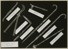 Roman Surgical Tools found at Pompeii reproductions