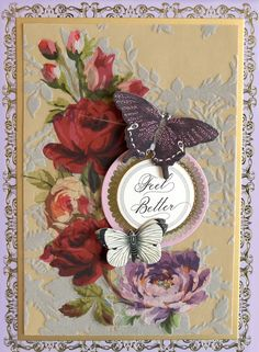 Rub On Transfers, Anna Griffin Cards, Flocking, Embellishments, Stampin Up, Card Making, Layers, Metallic, Paper Crafts