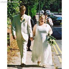 LollyLikesFATshion: 105 Plus/Fat Bride/Groom - Meet Claire & Rob