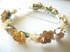 Corona flores d-blanco