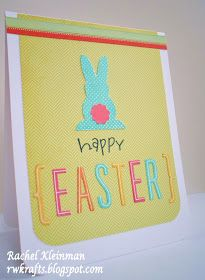 Easter bunny card by rwkrafts