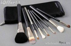 Professional makeup kit 8pcs of cosmetic brush set 1pc