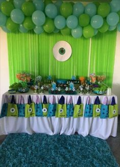 Baby Shower Boy Theme Monsters Inc 15 Ideas Baby Shower Boy Theme Monsters Inc 15 Ideas Little Monster Birthday, Monster 1st Birthdays, Monster Birthday Parties, Monsters Inc Baby Shower, Monster Baby Showers, Monster University Party, Monster Inc Party, Boy Baby Shower Themes, Baby Shower Fun