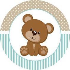 Teddy Bear for Boys: Free Printable Mini Kit. - Oh My Baby! Dibujos Baby Shower, Baby Shower Oso, Imprimibles Baby Shower, Teddy Bear Baby Shower, Baby Boy Scrapbook, Bear Theme, Baby Shawer, Bear Party, Baby Cards