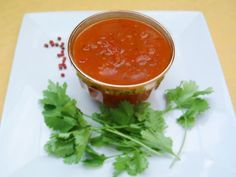 sauce indienne chutney de tomates