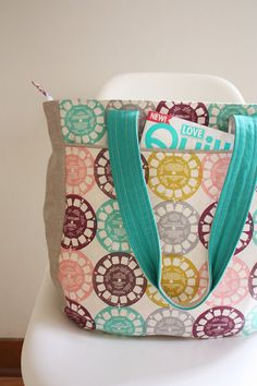 Super Tote Pattern by Noodlehead Anna Graham by GatherFabrics, $9.50