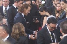 Sam and Caitriona at the Golden Globes. So cute together.