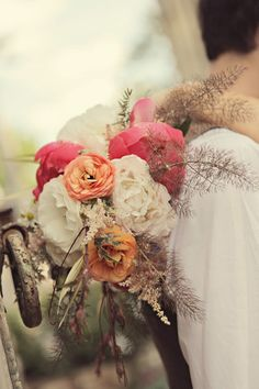 Gorgeous rustic bouquet