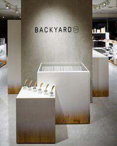 "SHOP ""backyard by   n'"", Yokohama design NENDO"