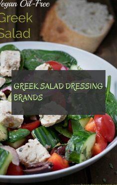 Salad Greek dressing brands! Greek / #brands #Dressing #Greek #greeksaladdressingbrands #salad Salad Dressing Brands, Greek Salad, Cobb Salad, Chicken, Food, Greek Language, Meals, Yemek, Buffalo Chicken