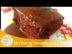Prato Pra Um - Mini Bolo de Chocolate, Café e Azeite