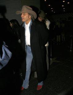 Dwight Yoakam - Dwight Yoakam Leaving Supperclub At Vogue Theatre