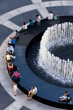 revson fountain iwan baan image #landscapearchitecturewater