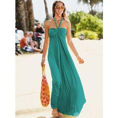 Halter maxi dress - summer style