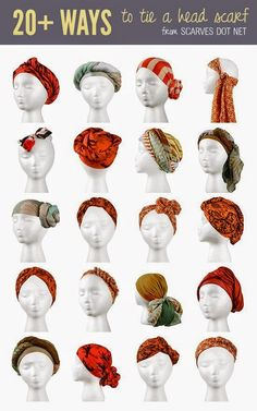 How To Tie Anything And Everything Turban-style. Especially since my curly hair refuses to cooperate. Perfect for my bad hair days! Especially since my curly hair refuses to cooperate. Perfect for my bad hair days! Bad Hair Day, Your Hair, Natural Hair Care, Natural Hair Styles, Headwraps For Natural Hair, Protective Hairstyles For Natural Hair, Head Scarf Tying, Diy Head Scarf, Turbans