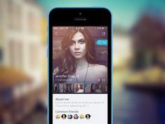 User Profile by Andreea Nicolaescu