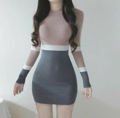 Korean Fashion – How to Dress up Korean Style – Designer Fashion Tips Cute Fashion, Trendy Fashion, Girl Fashion, Fashion Dresses, Fashion Design, Style Fashion, Fashion Ideas, Womens Fashion, Korean Fashion Trends
