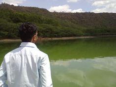 Me at lonar lake