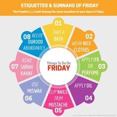 #Friday | #Jummah | #Sunnah