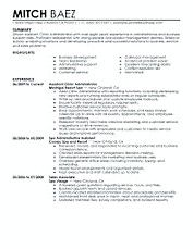 Human Resources Resume Template Sample  Hiring Manager Resume