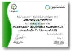Organización de Eventos Sustentables | Cursos | Desarrollo Humano | Fundación Energizar