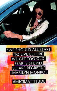 We should all start to live before. # Micra Attitude # Magyarország