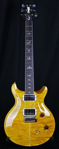 PRS Santana - Jesse Gago Guitars.  The Yellow Santana. Real deal. Out of my league.
