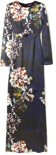 Project D as worn by PIPPA MIDDLETON Elle Botanical Maxi Dress