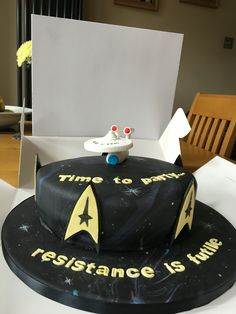 star trek cake 1000 ideas about trek cake on cakes 7668