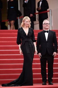 Cate Blanchett in Armani Privé  beim Filmfest in Cannes