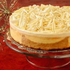 Whole Pumpkin Spice & White Chocolate Cheesecake