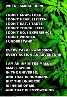 Why I smoke