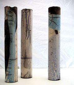 Anne Campiche. Rakú.  keramik kunst schweiz - schweizer kuenstler - galerien keramik