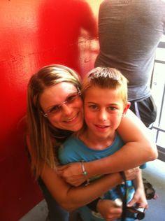 My son kaden and I