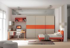 """#Arredamento #Cameretta Moretti Compact: Collezione 2012 """"Team"""" > Kids >> kc12 http://www.moretticompact.it/kids.htm"""