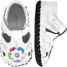 d9b7969bc94024 Protect your baby s precious feet in the APMA approved Tori in White Multi  from Pediped s Originals collection. Want more APMA approved  baby shoes  for your ...
