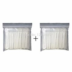 2 Packs Dental Orthodontic Materials Transparent Color Ligature Ties Rubber Band Elastic Dentist Products