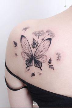 Bild Tattoos, Cute Tattoos, Beautiful Tattoos, Flower Tattoos, Body Art Tattoos, Small Tattoos, Tattoos For Women Half Sleeve, Back Tattoo Women, Sleeve Tattoos