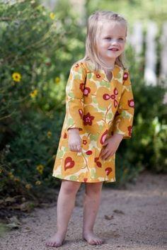 "Sophia Tunic - PDF Pattern by ""Sew Sweet Patterns"" (12-18mnths - 6yrs) $7"