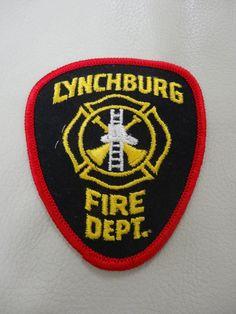 ...LYNCHBURG VIRGINIA.. FIRE DEPARTMENT.. PATCH.. in U.S. | eBay